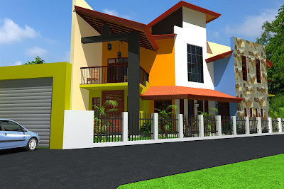 House Design for triangle land