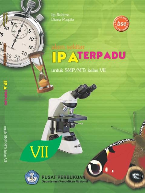 Download Buku Siswa KTSP SMP dan MTs Kelas 7 Alam Sekitar IPA Terpadu
