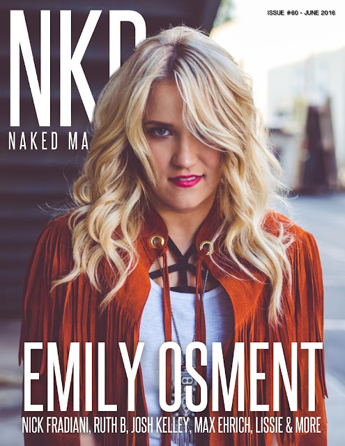 Actress, Singer, @ Emily Osment – NKD Magazine June 2016 Issue