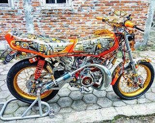 drag Yamaha RX King