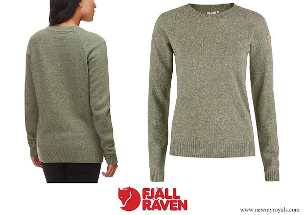 Kate Middleton wore Fjällräven Övik Re-Wool Sweater