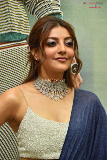 Kajal Agarwal in sleveless choli at Sita Pre event .XYZ Exclusive 01