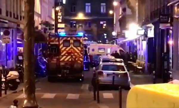 Zona de Ópera en el centro de parís donde ha muerto una persona por un ataque con cuchillo