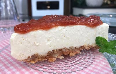 Cheesecake Romeu e Julieta (Goiabada com Queijo)