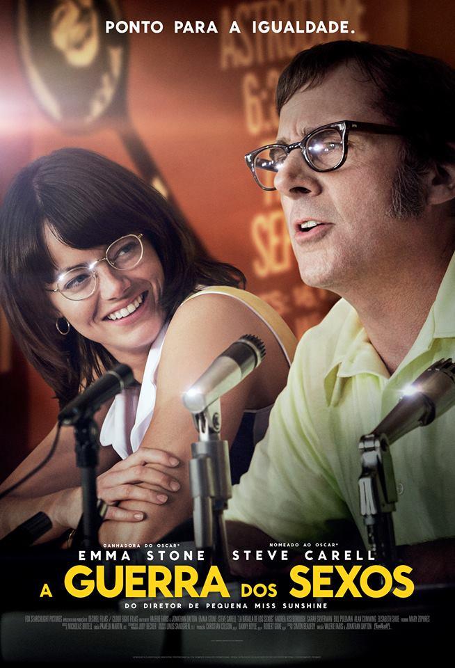 Capa do Filme A Guerra dos Sexos