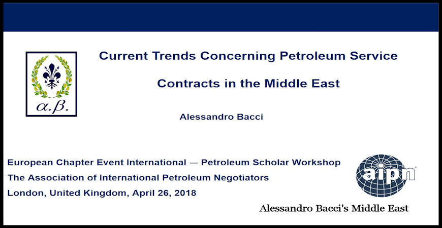 BACCI-Current-Trends-Concerning-Petroleum-Service-Contracts-in-the-Middle-East-April-2018-Cover