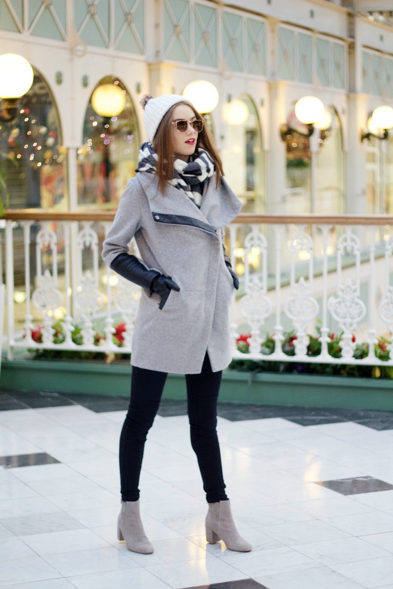 Black & Grey Winter Outfit