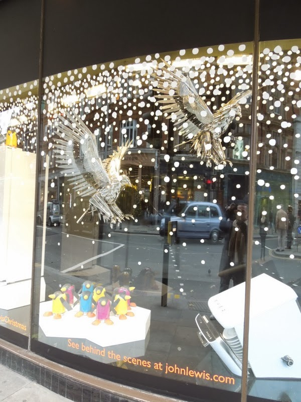 Peter Jones Christmas window display