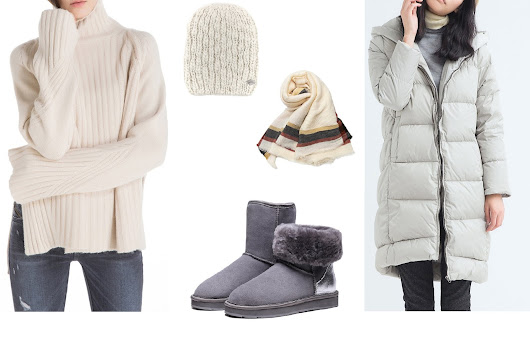 5 items to keep you extra warm this winter with StyleWe - Mango Juice