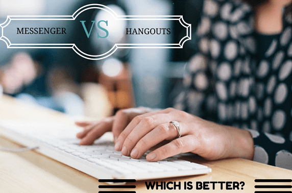 Facebook Messenger ضد  Google Hangouts: أي موقع فيهما هو الافضل في التواصل ؟