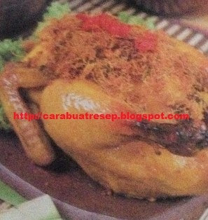 Foto Ayam Bakar Bertabur Kremes