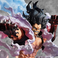 "Monkey D. Luffy Gear4 Snake Man P.O.P. SA-MAXIMUM de ""One Piece"" - Megahouse"