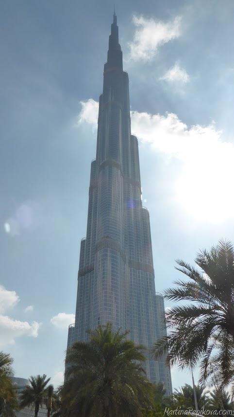 Burj Khalifa v Dubaji