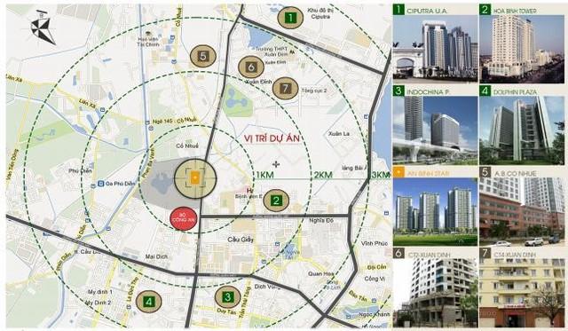 vị trí thành phố giao lưu