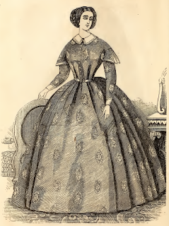 Home Dress, Godey's, March 1860