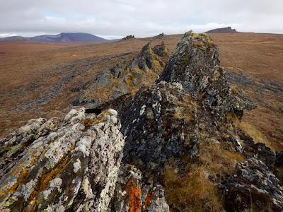 rocks seward peninsula Teller Road Livingston Creek climb