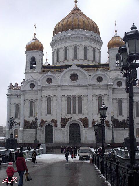 Moskwa, KATEDRA CHRYSTUSA ZBAWICIELA