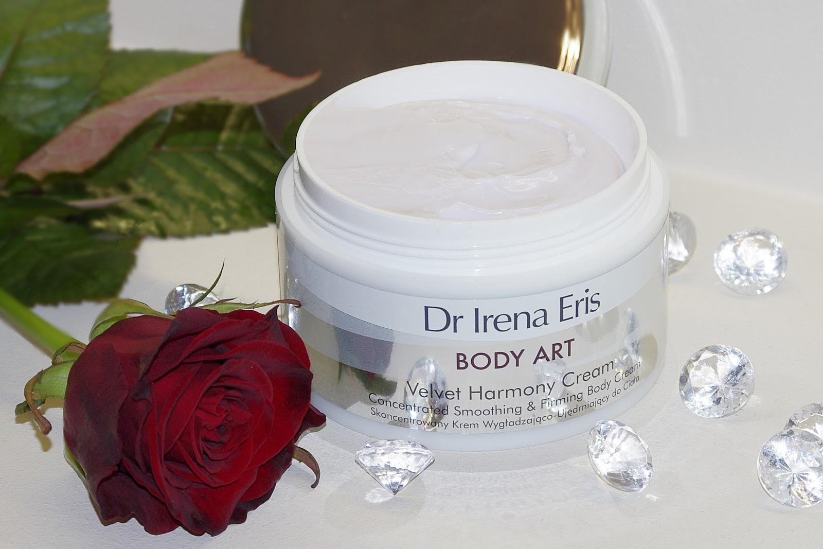 Skoncentrowanym Krem Wygładzający do Ciała Velvet Harmony Cream Body Art Dr Irena Eris konsystencja