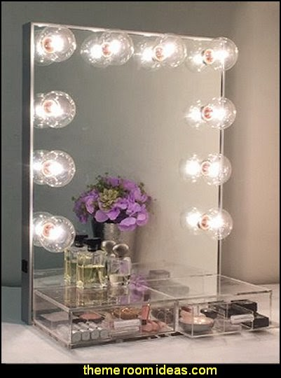 Hollywood Crystal Vanity Mirror