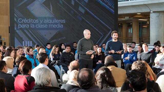 """Rodríguez Larreta presentó los nuevos planes de compra y alquiler para clase media: """"Queremos ayudar a los vecinos en su sueño"""""""