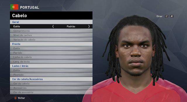 PES 2016 Renato Sances Face by JR Facemaker