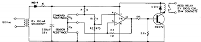 Resistance ratio Detector Circuit Diagram