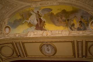pintura teto teatro solis montevideo