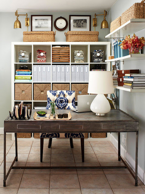 Modern home office 2013 ideas storage organization - Small office setup ideas ...