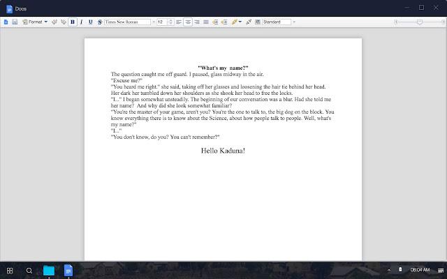 CLOUDIORA OS; THE FUTURE IS WEB TECHNOLOGY, AMINU BAKORI