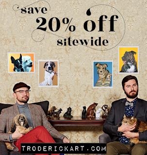 sale extended coupon code timeoff troderickart.com