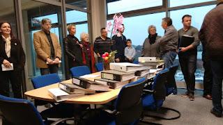 2014 gab es 2000 Einwendungen zur A39 im Rathaus der Samtgemeinde Boldecker Land