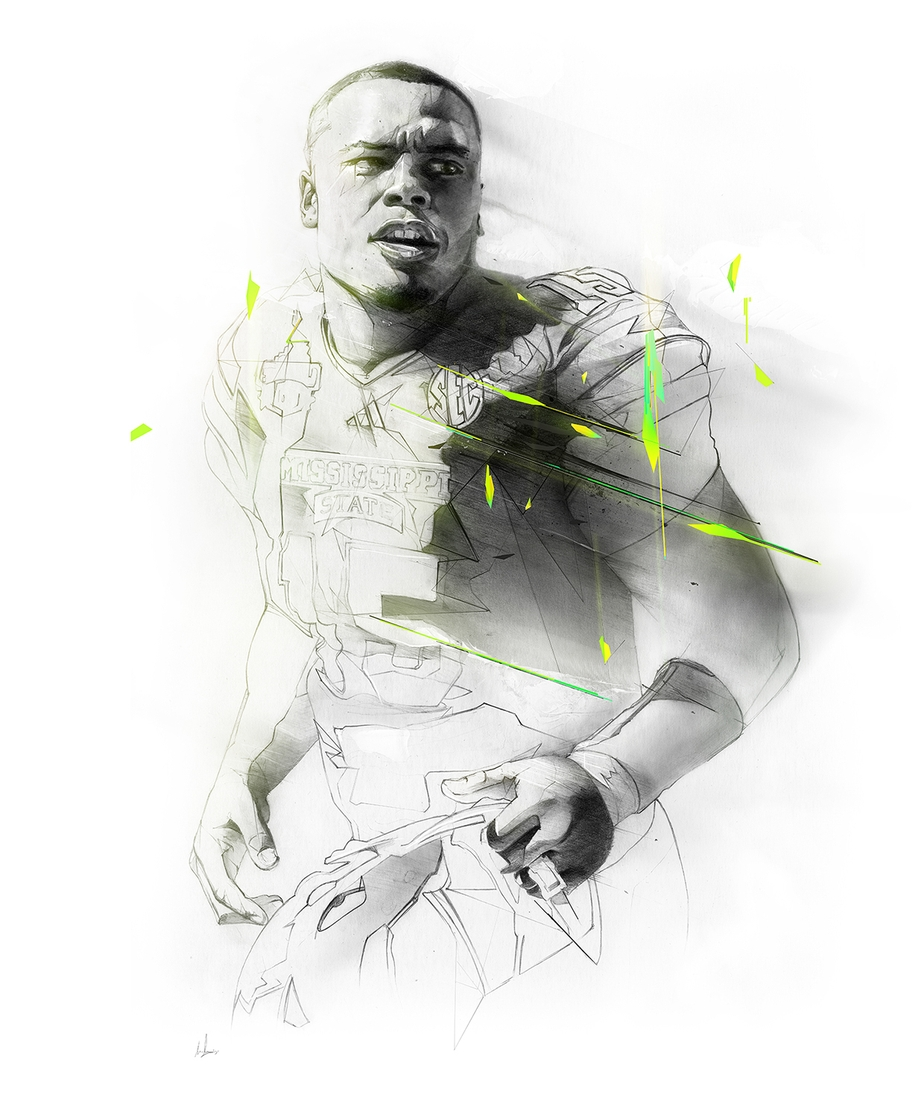 16-Dak-Prescott-Alexis-Marcou-Traditional-and-Digital-Celebrity-Drawings-www-designstack-co