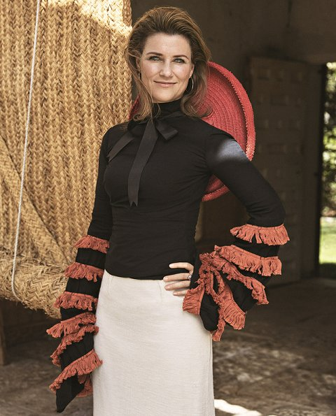 Princess Märtha Louise of Norway gave an interview for the latest issue of Vanity Fair Espana magazine
