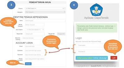 Cara Registrasi Aplikasi DapoTendik