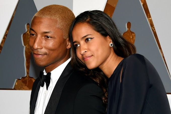 Pharrell Williams and Helen Lasichanh Welcome Triplets