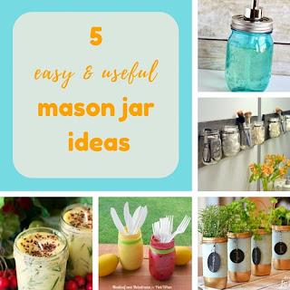 http://keepingitrreal.blogspot.com.es/2016/06/5-easy-useful-mason-jar-ideas.html
