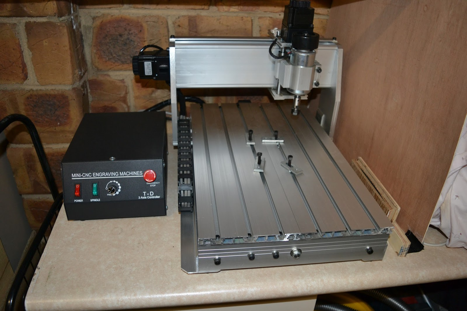 Billys Projects 3020t Cnc Engraving Machine Diy Mill I Bought A Light Milling Off Ebay To Pcbs And Other Parts In Future Id Have Liked Try Building My Own But That Will