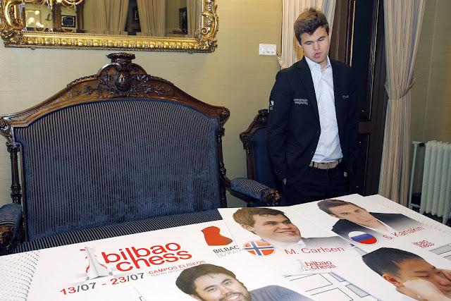 Magnus Carlsen es la estrella del Bilbao Chess 2016