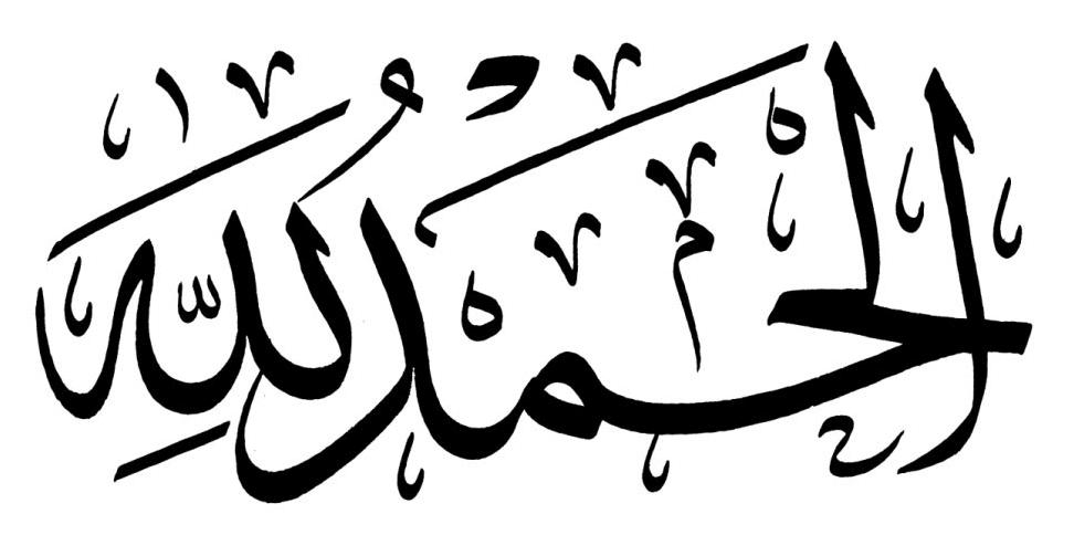 80 Gambar Kaligrafi Arab Mudah Allah Bismillah Dan Asmaul Husna