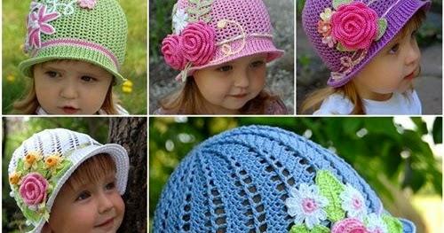 2411a3400bfac Sombreros encantadores para niñas