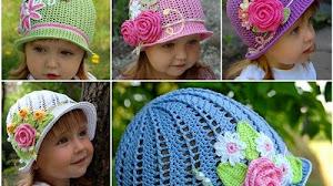 Sombreros encantadores para niñas