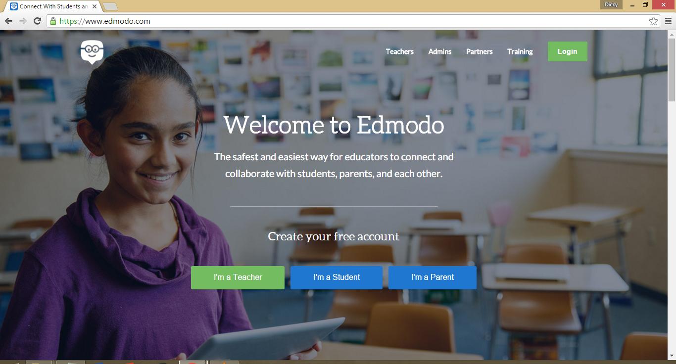 Cara Daftar Akun Edmodo dan Join Grup Edmodo - Blog Dicky ...