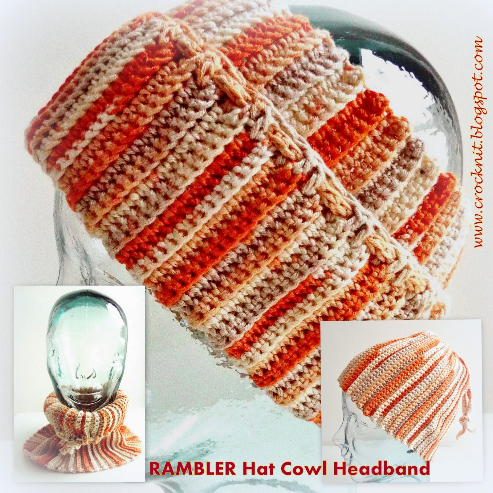 free crochet patterns, hat, headband, cowl, how to crochet,