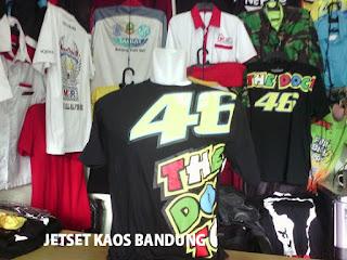 Baju Kaos sablon produksi asli Bandung
