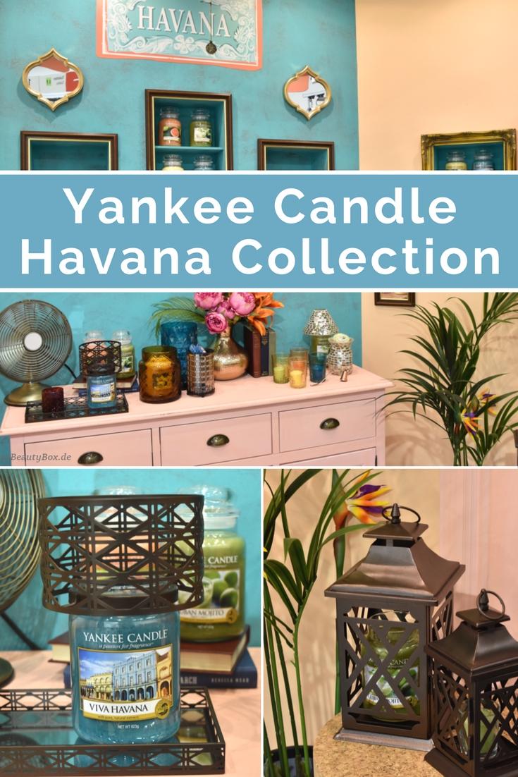 Yankee Candle - Havana Kollektion - Duftbeschreibungen