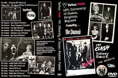 Slits, Damned, Subway Sect, The Clash - 1977 - Live in Brighton, UK (DVDfull pro-shot)