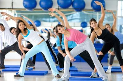 Aerobics Exercising