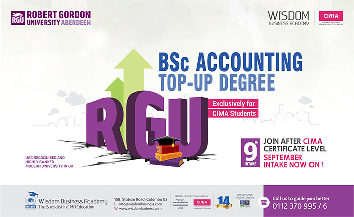BSc Accounting for CIMA students