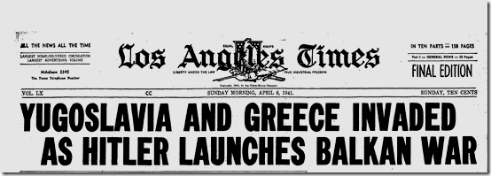 6 April 1941 worldwartwo.filminspector.com LA Times headline