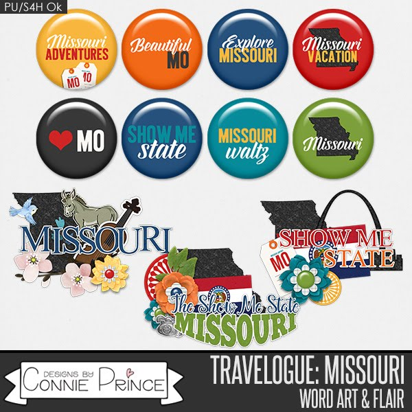 Travelogue Missouri by Connie Prince